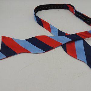 Tommy Hilfiger Silk Bowtie Stripe Adjustible